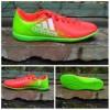 Sepatu futsal adidas X 16 ijo kombinasi orange sol komponen