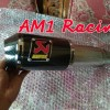 KNALPOT AKRAPOVIC GP SLIP ON CBR 150R/CB 150R/NEW/FACELIFT/LOKAL/K45