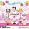 TSUM TSUM CARNIVAL - BACKDROP BACKGROUND BIRTHDAY PARTY
