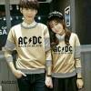 Couple Kaos Baju Blouse Atasan ACDC Mocca