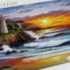 Jigsaw Puzzle Clementoni : Lighthouse Sunset - 1000 pieces