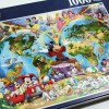 Jigsaw Puzzle Ravensburger : Disney World Map - 1000 pieces