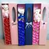 16 Flower soap + bear, hadiah valentine,ultah,graduation & anniversary