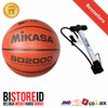 Bola Basket Mikasa BD2000 Replika PU Kulit + Pompa Besi