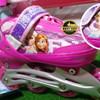 Sepatu Roda Inline Skate Motif Frozen Ban Karet Sudah Jahit
