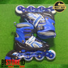 Sepatu Roda Power Champs Chrome Frame Fancy Colours Biru Original