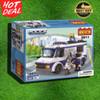 Mainan edukatif Brick Block lego Cogo Police Action 194 pcs #3911