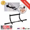 Iron Gym Bar / Pull Up Bar / Chin up Bar Solid Black Edition