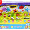 Mainan edukatif edukasi anak Train Animal World Piano CY5091B