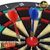 Safety Dart Board Set / Papan Dart Aman 15""