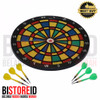 Safety Dart Board / Papan Dart Safety 12""