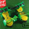 Sepatu roda dry skate 4 roda untuk Anak uk. 31 - 36