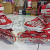 Sepatu roda Braman Ban Karet Jahit Merah