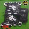 Sepatu Roda Power Champs Chrome Frame Fancy Colours Ungu + Dekker