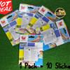 Repair Patch / Stiker Penutup Lubang Bestway isi 10 lembar