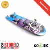 Silverfox Skatebord 100% Maple Radical Rider