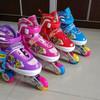 Sepatu Roda Ban Karet Karakter Siput PU Ban Warna Warni Mantap