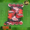 Sepatu Roda Power Champs Chrome Frame Fancy Colours Ungu Original