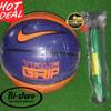 Bola Basket Nike Versa Tack / True Grip Blue Orange + Pompa Murah