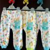 Celana Panjang LIBBY 0-3m & 3-6m Motif (3pcs) LIBBY-CL06LD