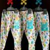Celana Panjang Tutup LIBBY Motif 3-6m (3pcs) LIBBY-CL36LTB
