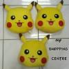 Bantal Boneka Pokemon Go Pikachu Face Muka Limited
