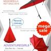 Supplier Payung Terbalik Gagang C Reverse Umbrella Free Diskon