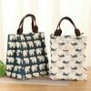9030 New Lunch Bag Cooler Bag (Bonus 2 Pcs Jelly Ice Co Diskon