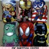 Bantal Superhero Full Body (3 pcs) Berkualitas