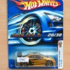 HOT WHEELS HONDA CIVIC SI GOLD FTE FIRST EDITIONS 2006 #028