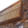 Karya Seni Lukis Ukiran Kaligrafi Pintu Kabah Jati 90x150cm