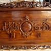 Karya Seni Lukis Kaligrafi Jati Logo Nahdlatul Ulama