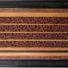 Karya Seni Lukis Kaligrafi Kayu Jepara 3 Dimensi 4 Quli 150x60cm