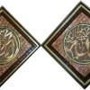 Karya Seni Lukis Kaligrafi Kayu Jati Ilahi Rasuli