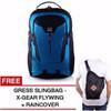 NEW Gear Bag - The Flash Edition Labtop Slot - Blue + Raincover + GRAT