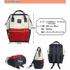 NEW Tas Ransel Anello Handle Oxford Cloth Backpack Campus Rucksack L S