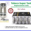 MINI SUPER TANK COIL by Tobeco | 0,2 ohm | SUPERTANK | AUTHENTIC