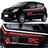 stiker mobil cutting striping racing Spirit TRD sticker keren murah