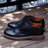 COSMO Black Sepatu Formal Kasual Pria
