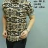 Baju Batik Pria slim fit lengan pendek HES-66