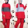 Stelan Baju Olahraga Muslim Believe BMS 03 Size S - XL