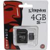 Memory Card Memory Micro SD Kingston 4GB Class 4 (SDC4)