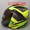 HELM MDS R3 SPORT SUPER FLUO YELLOW GREEN FLUO HALF FACE