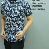 Kemeja batik pria modern slim fit lengan pendek OB-326