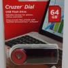 Sandisk Flashdisk Cruzer Dial CZ57 - 64GB - GARANSI RESMI
