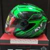 Helm KYT Kyoto Super Fluo Series Half Face Original