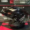 Helm KYT Forever Solid Glossy Visor Halface