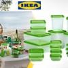 IKEA PRUTA TEMPAT MAKAN ISI 17 pcs