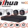 Paket CCTV 4 Camera 2MP Lengkap Merk DAHUA ORIGINAL bukan OEM