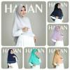 Jilbab/hijab Khimar Hanan